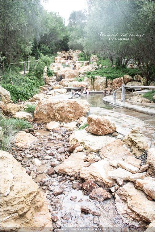 墨爾本自由行︱Peninsula Hot Springs.莫寧頓半島的五星級戶外溫泉