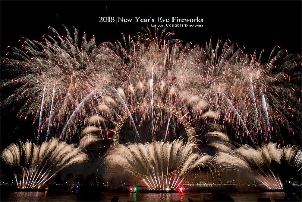 倫敦跨年煙火︱London New Year's Eve Fireworks 2018.倫敦跨年煙火、藍點絕佳觀賞地點