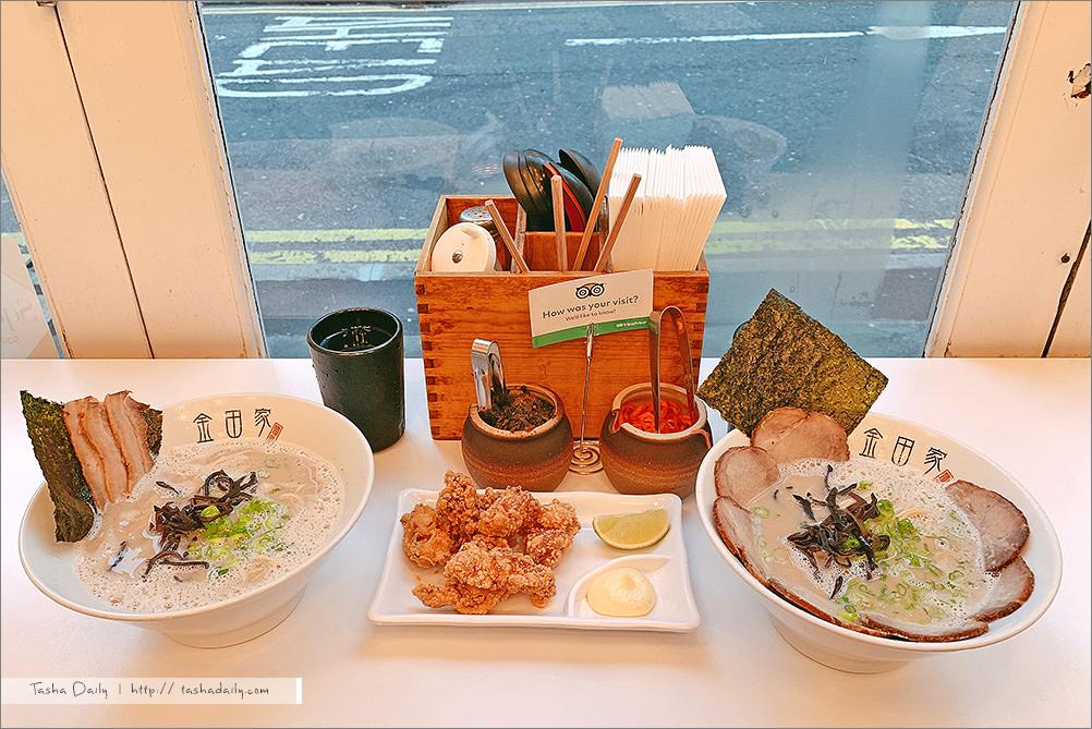 倫敦食記︱金田家Kanada-ya.湯頭濃郁好吃的日式拉麵