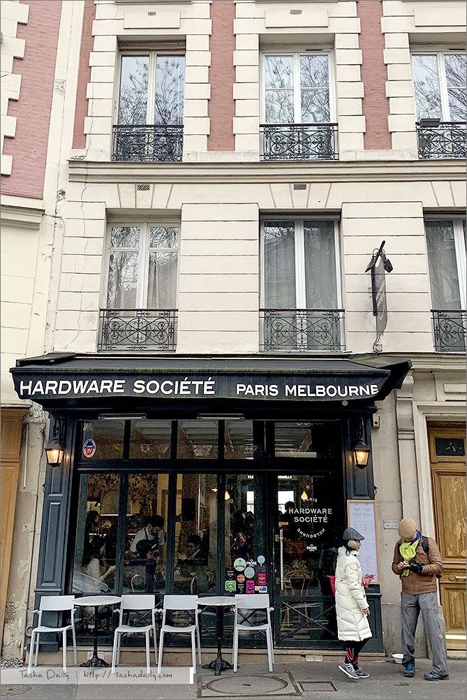 巴黎早午餐 ︱Hardware Société Paris.從澳洲來的聖心堂旁早午餐咖啡館