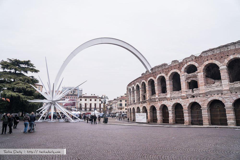 快閃Verona︱Verona Arena維羅納圓型競技場、不在旅程中的意外行程