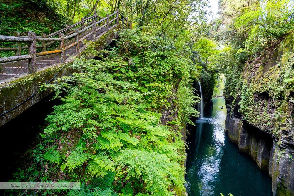 宮崎白由行丨高千穗峽.走進日本神話的夢幻峽谷瀑布