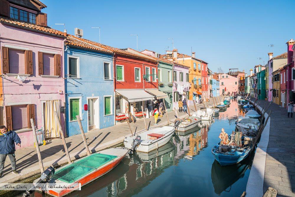 威尼斯自由行︱彩色島Burano.繽紛色彩、全球必訪十大夢幻島嶼