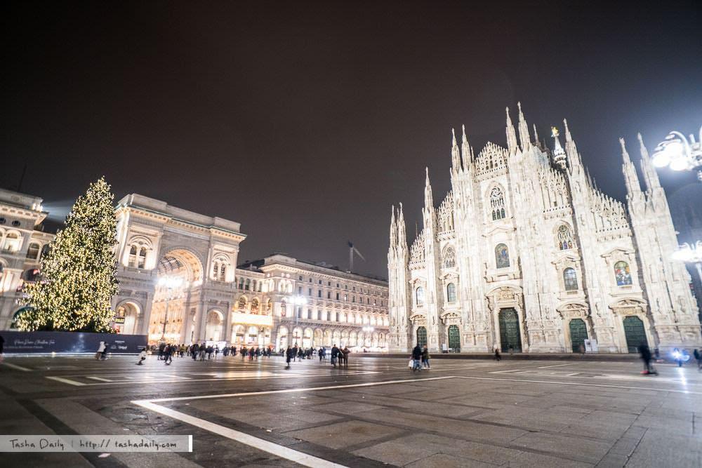 米蘭自由行︱難懂你的時尚魅力、耶誕燈景的米蘭風情