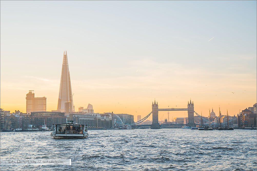 英國、倫敦自由行丨Thames River Cruise 泰晤士河遊船.搭船遊倫敦