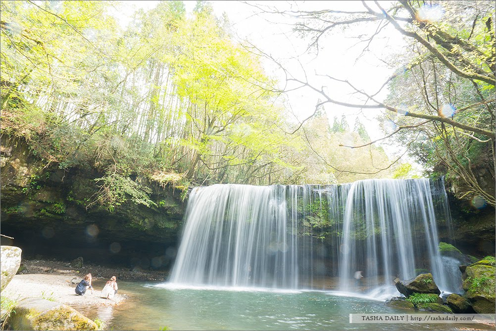 熊本自由行︱鍋ヶ滝.只為看一眼的妳,來段日本機車自駕遊