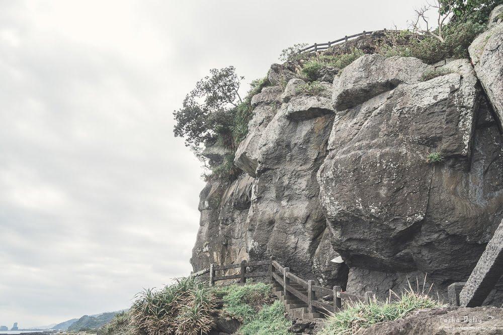 宜蘭旅遊丨台灣也有超大艾摩石像~北關海潮公園