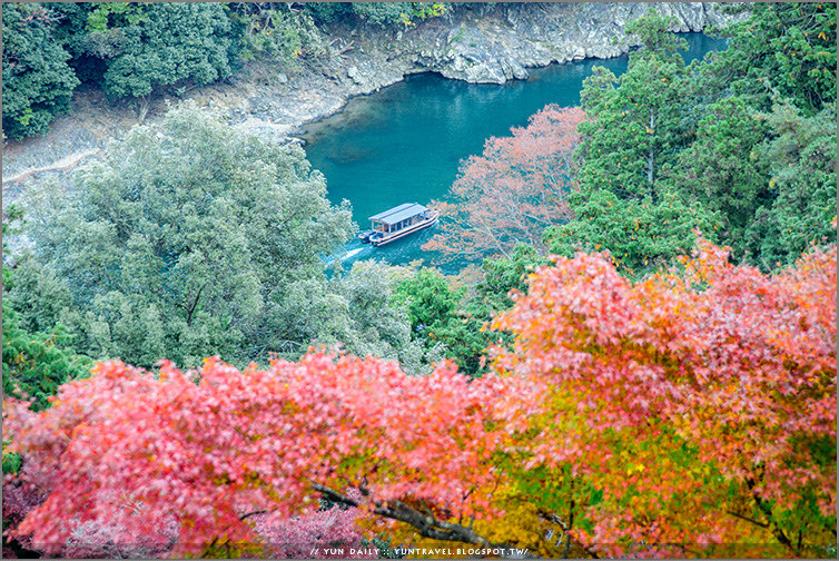 嵐山自由行︱千光寺.遠離人潮、眺高望遠的絕美風景