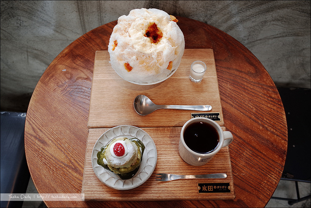 台中食記︱冰田ガリガリ.台中西區巷弄IG美食、大人的冰與美味手作司康