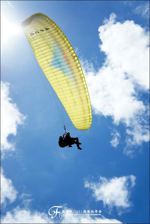 旅行︱台東.2011想飛的季節@鹿野高台~飛行傘篇